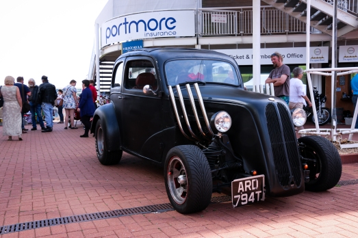 Yellow Vintage Fair @ The Ageas Bowl - Amazing cars on display, clearly a labour of love