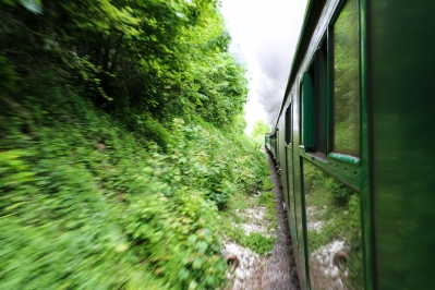 Watercress Line @ Alresford - Taking a trip on an old steam engine